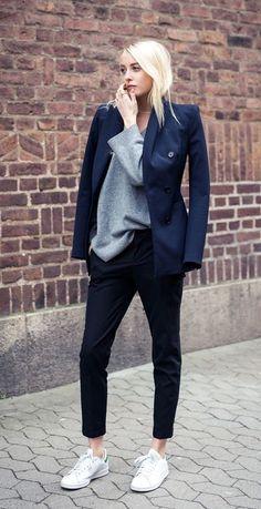How to mix and match black blazer #fashion #black #ootd