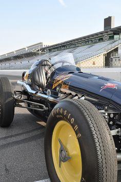 1951 Indy 500 winner Lee Wallard's Belanger Special by FirestoneTires, via Flickr