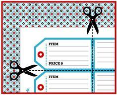 free pdf garage sale pack
