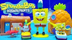 SpongeBob Squarepants Figure Two NEW Mini Playset Nickelodeon SpongeBob ...