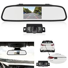 Nice 170°hd 600 Tvl Car Front Side Rear View Mirror Reverse Backup Camera Parking Kit Suitable For Men And Children Women