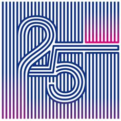 25th Anniversary, Gestalt Ver. Mexico. http://bluetypo.com