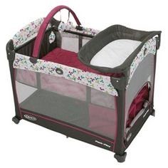 GracoR Pack N PlayR Element Baby Playard Girl Play