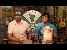 Exotic Potato Chip Blindfold Guessing Game - YouTube