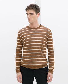 STRIPED SWEATER - Knitwear - MAN - SALE | ZARA Germany