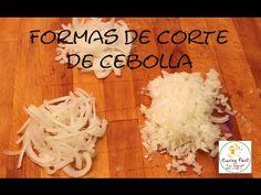 Formas de cortes de cebolla