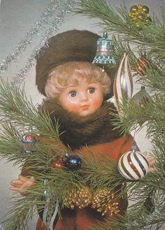 V�NOCE: panenka a v�no�n� strome�ek