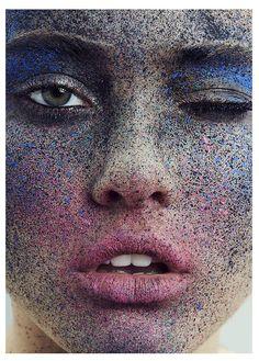 Freckle Tastic – Ines Garcia by Frauke Fischer for Push It #7.Hair and Makeup Melanie Schoene.