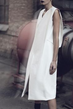 .tze goh white dress #minimalist #fashion #style