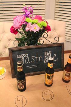 Craft Beer Tasting Party 101