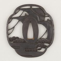 Sword Guard (Tsuba). Possibly 18th -19th century.