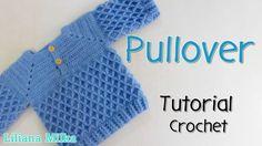 Pullover de niño en varios talles – Paso a Paso Crochet