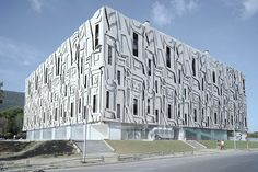 PPAG + milan mijalkovic: 3D patterned multi-storey car park in skopje, macedonia - designboom | architecture & design magazine