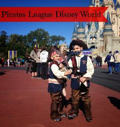 Become a #Disney Pirate at Pirate League in Magic Kingdom
