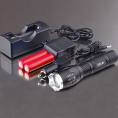 5-Mode Cree 1800 lumen LED wiederaufladbare Taschenlampe Set2013 Personal Care, Led, Autos, Flashlight, Used Cars, Real Estate, Bicycle, Personal Hygiene
