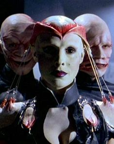 Valentina Vargas as Angelique - the female cenobite in Hellraiser Bloodline.  After this, the movies got pretty ridiculous.