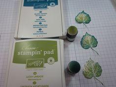 French Foliage in Indigo and Lime   Stamping With Sandi - Sandi MacIver, Stampin' Up! Demonstrator