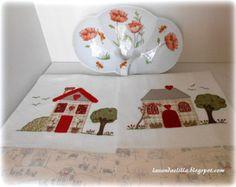 Disegno per lenzuolino da lettino in Pdf visto by Lavandaelilla