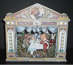 Alice in Wonderland Mad tea Party Paper Theatre par MaryAndHeidi