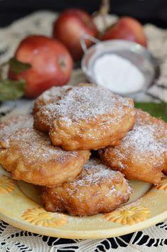 Gogosi cu mere - CAIETUL CU RETETE Donuts, French Toast, Ice Cream, Tasty, Snacks, Breakfast, Sweet, Food, Cakes