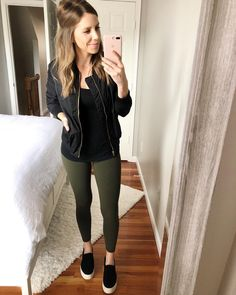 ea6a962f6 10 Best Black bomber jacket outfit images in 2018   Casual outfits ...
