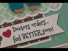 """""""DOCTOR'S ORDERS..."""" GET WELL CARD - YouTube"""