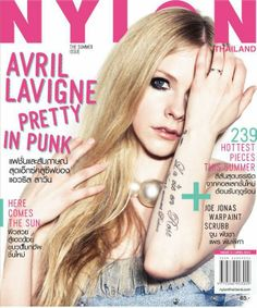 Avril Lavigne covers #NYLONThailand April 2014