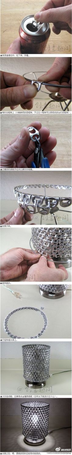 JOJO POST RECYCLE: soda can pop tabs??? NNIICCEE.