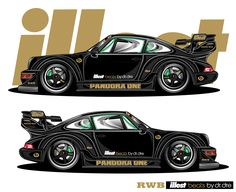 www.dubmagazine.com home images stories illest_beats Pandora-One-RWB-Porsche-Render.jpg