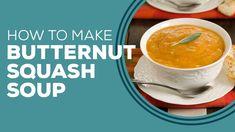 Fall Soup Recipes, Easy Family Dinners, Butternut Squash Soup, Paula Deen, Fruit, Food, Squash Soup, Essen, Meals