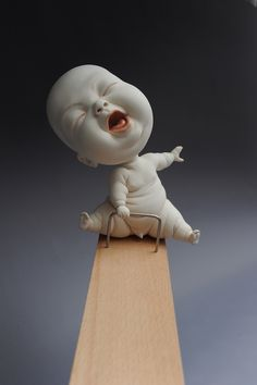 The Gooey, Grotesque Porcelain Babies of Johnson Tsang | The Creators Project