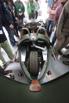 New Morgan Three-Wheeler. Car or bike? What do u think?
