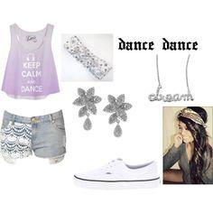 """dance time"" by kaileyjmalik on Polyvore"