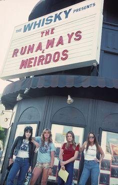 Joan Jett rocks! The Runaways