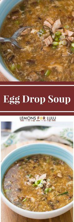 Love egg drop soup?