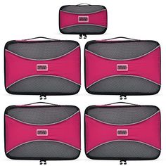 PRO Packing Cubes | 5 Pc Value Set | Organizers