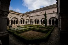 Abbaye Notre-Dame de Sénanque inner garden,the abbey still operates, we ran into some Monk too.I'm not a deeply religious person,but walking in that buliding is an extraordinary feeling -photo by Baráth Mix Levente https://www.facebook.com/barath.m.levente?fref=ts