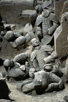 Terracotta Army, Xi`an, China