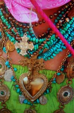 ethnic boho jewels boho chic jewelry for women over 40 or 50 - ish