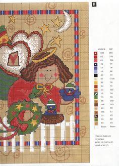 Punto de cruz, Especial Navidad Nº 87 (Colombia) - Joaquín Romero - Веб-альбомы Picasa