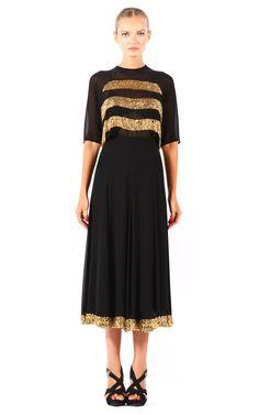Pas Pour Toi Lori Stripes Shirt & Skirt at Moda Operandi