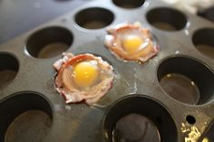 Bacon and Egg Cups. MUST TRY