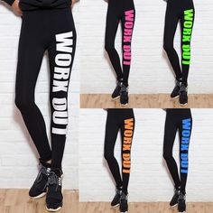 Fitness Autumn Sexy Women's Leggings Work Out Cotton Sports Casual Fashion…
