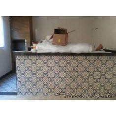 """Área Gourmet  Cliente: Daiene e Robert Local: Pampulha/BH  Tá quaaaase!  #archlovers #arquitetura #decoração #designinteriores #decor #decorate…"" - http://www.fernanndaarquiteta.com/"