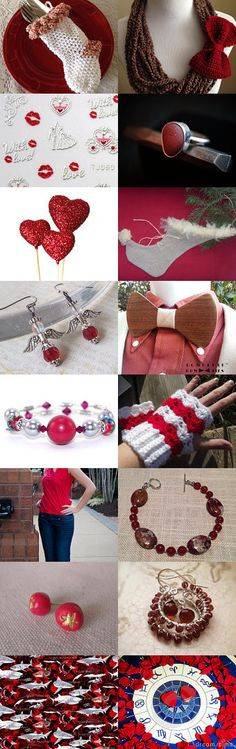 A Red Christmas by Steve and Vicki Steinhauer on Etsy--Pinned with TreasuryPin.com #Etsy #EtsyRPM #PayItForward