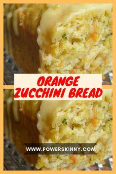 Orange Zucchini Bread – Page 2 – One Of Recipe Zucchini Bread Recipes, Orange Zucchini Bread Recipe, Zuchinni Bread, Zucchini Pancakes, Zucchini Brownies, Lemon Bread, Zucchini Chips, Zucchini Lasagna, Zucchini Boats