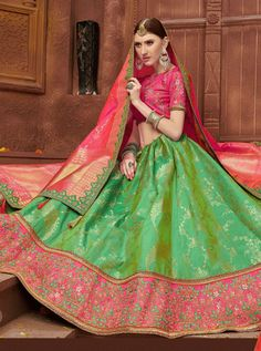 NAKHRALI N-901 TO N-907 SERIES DESIGNER LEHENGA WITH HEAVY LOOK AND BEAUTIFUL EMBROIDERY DESIGNER PARTY WEAR LEHENGACOMES WITH HEAVY LESS AND DUPATTA Icon Fashion, Lehenga, Party Wear, Style Icons, Sari, Embroidery, How To Wear, Beautiful, Design