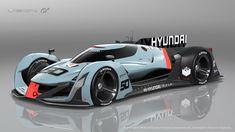 Hyundai N Vision Gran Turismo concept cars vidA wallpaper Police Cars, Race Cars, Le Mans, Sub Brands, Futuristic Cars, Performance Cars, Rally Car, Transportation Design, Supercars