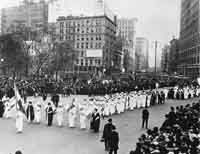 Suffragette Parade in New York City