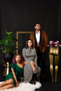 These three are serving major 2020 vibes in the studio! I am so excited to do more shoots like these with the Queens and Kings of the Bay Area! Contact me to book your personality shoot!